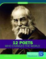 Cover image for 12 Poets Who Changed the World