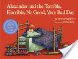 Cover image for Alexander and the Terrible, Horrible, No Good, Very Bad Day