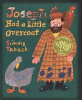 Cover image for Joseph Had a Little Overcoat