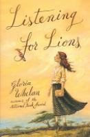 Cover image for Listening for Lions