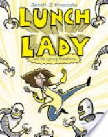 Cover image for Lunch Lady and the Cyborg Substitute