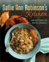 Cover image for Sallie Ann Robinson's Kitchen