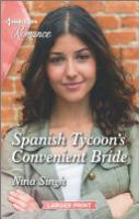 Cover image for Spanish Tycoon's Convenient Bride