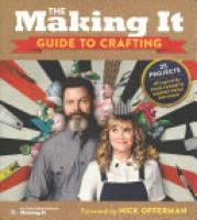 Cover image for The Making It Guide to Crafting