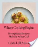 Cover image for Where Cooking Begins