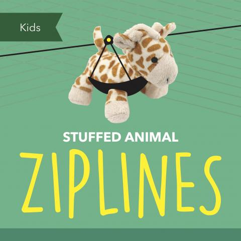 Stuffed Animal Ziplines