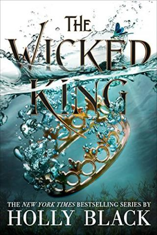 """In book 2 of the Fair Folk series, Jude has placed Prince Cardan on the throne and has gotten him to promise to obey her for a year.  Machinations ensue. Warning! don't read this book until book 3 comes out.  REALLY!""The Wicked King"
